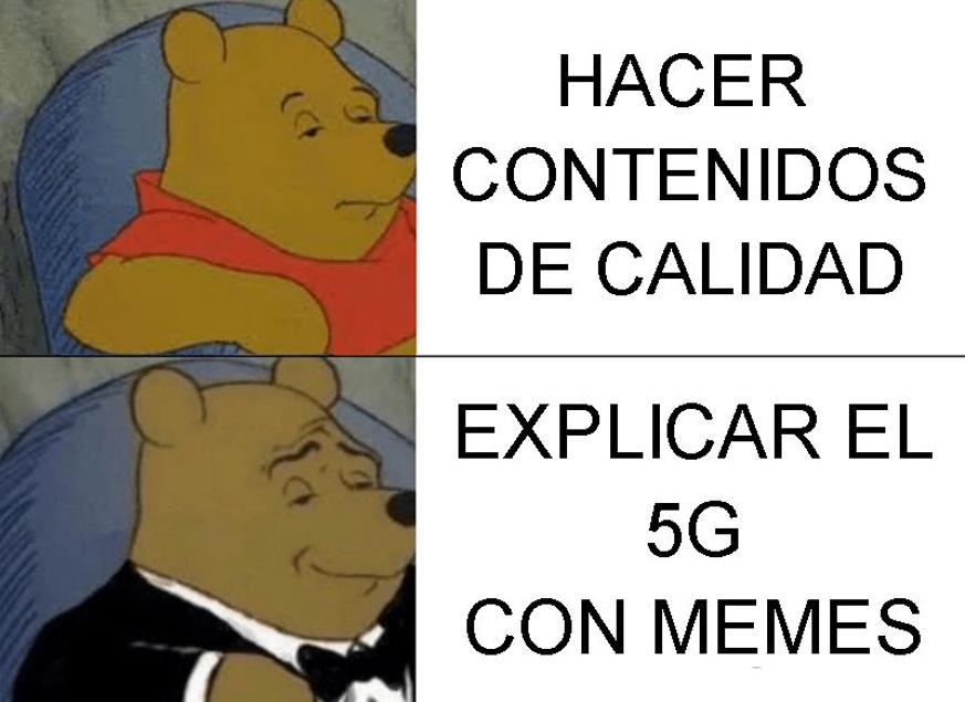 La explicación definitiva del 5G solo podía hacerse de una forma: con memes